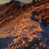 夕景の星生山