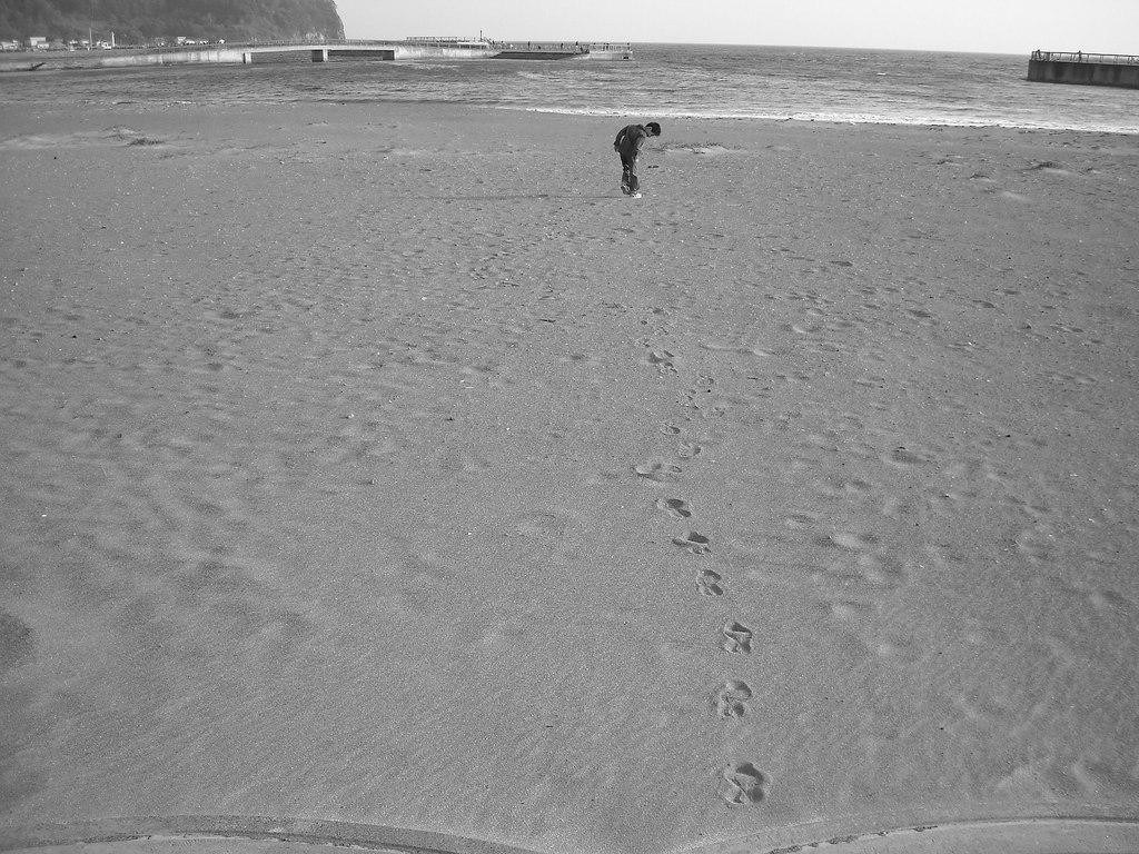 寒くても海が好き