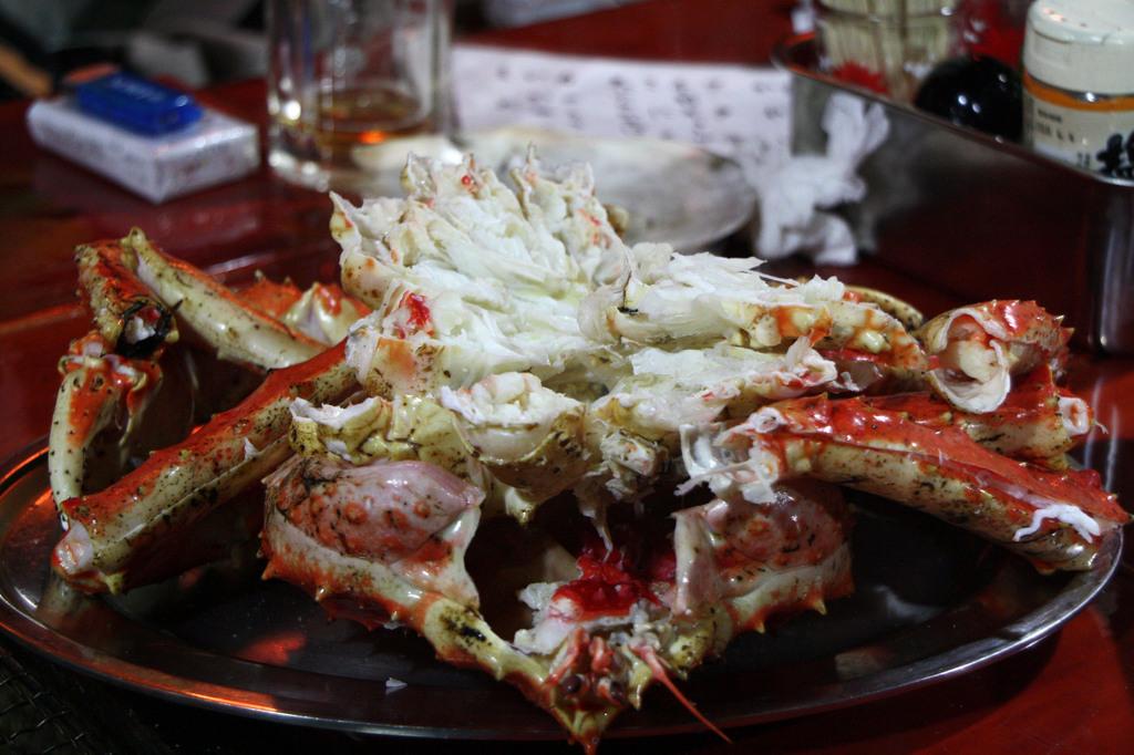 釧路タラバ蟹