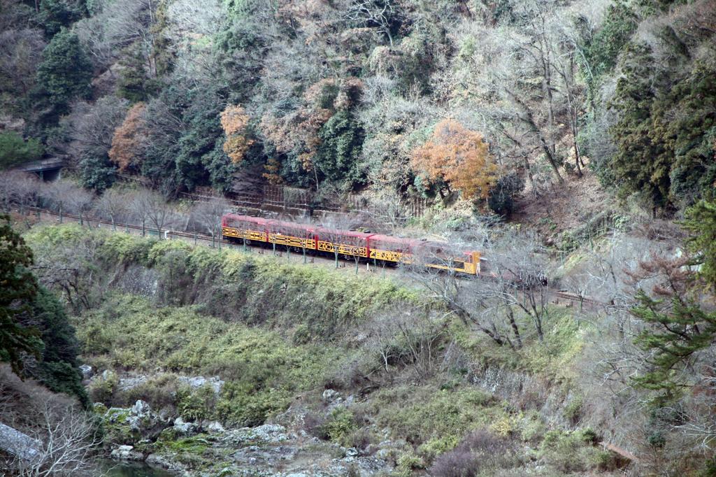 保津川下りトロッコ列車