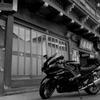 温泉バイク