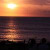 角島の夕焼け