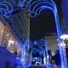 品川駅前の夜