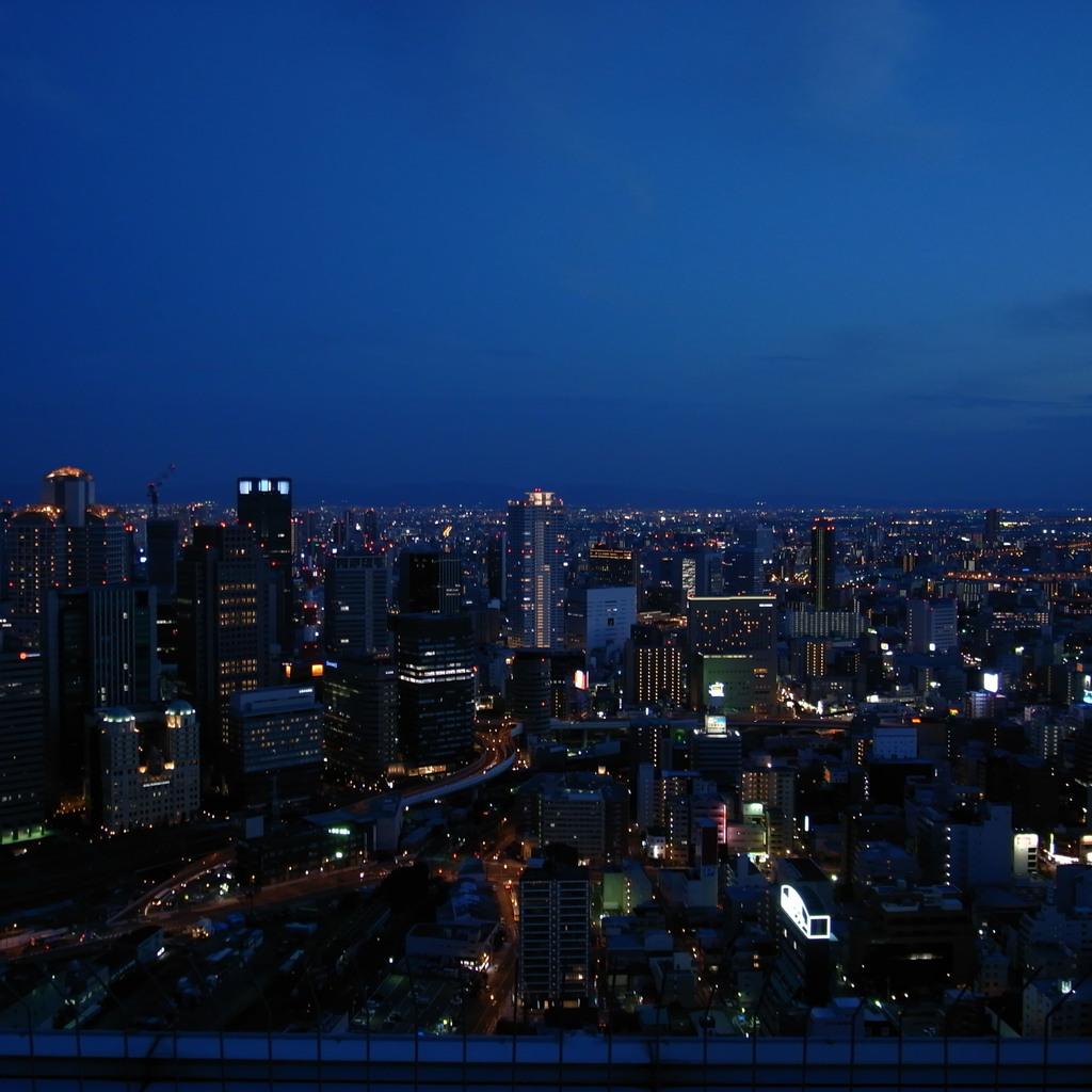 梅田スカイタワー夜景