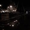 Night of wharf