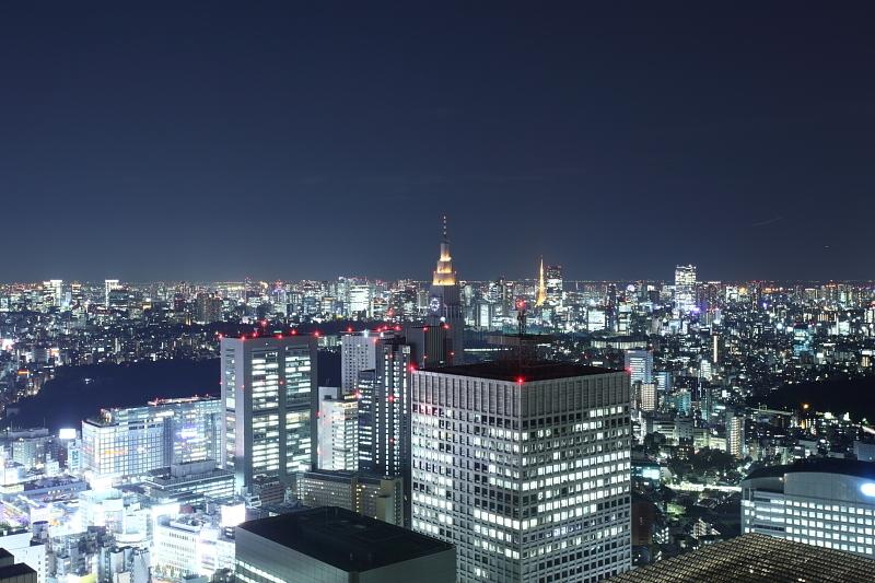 輝き続け新宿
