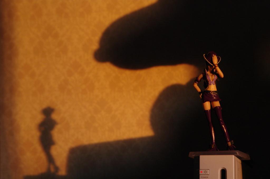 スヌーピーの影