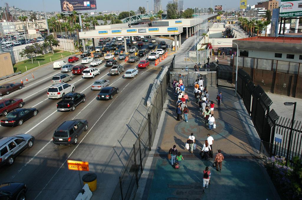 アメリカ・メキシコ国境
