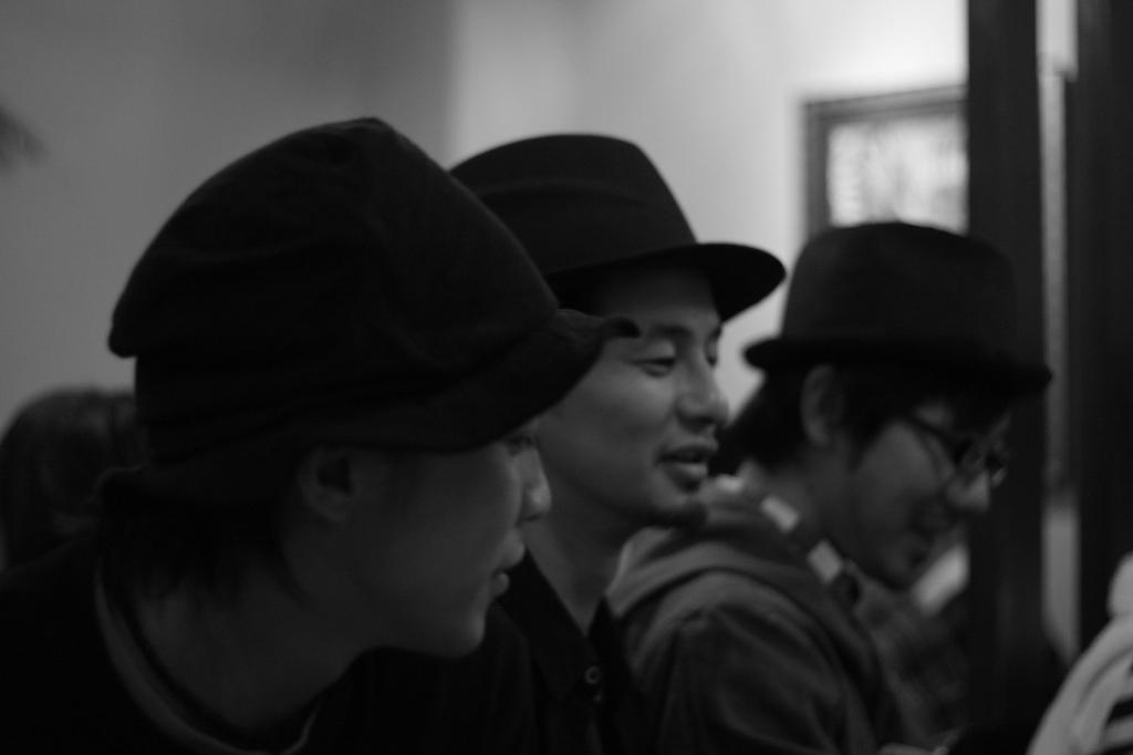 帽子お似合いメンズ