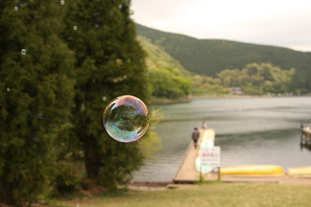 湖畔を漂う想い