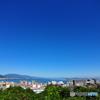 琵琶湖の青い空