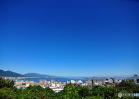 NIKON NIKON D90で撮影した(琵琶湖の青い空)の写真(画像)