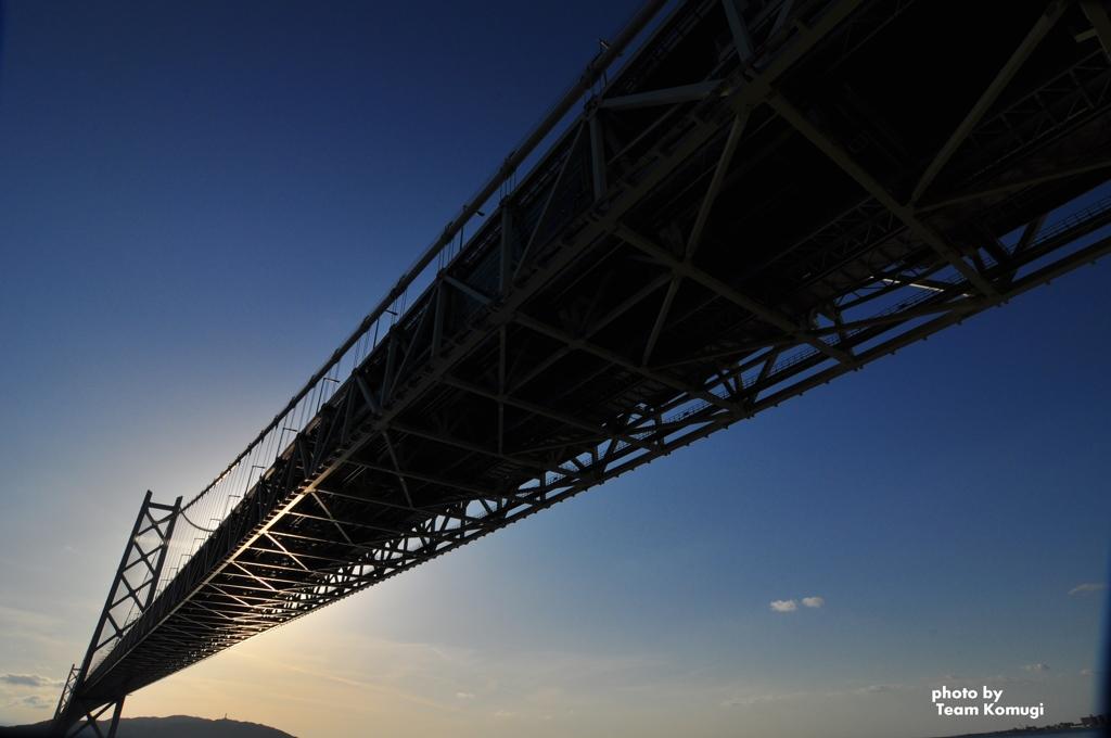 橋で繋がる