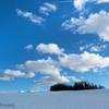 北国の青い空