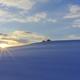 丘の夜明け
