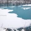 青い池 冬序章2