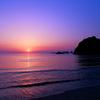 熊野浦の穏やかな朝