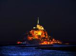 闇の光の楼閣 -モンサンミッシェル
