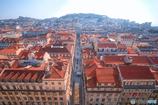 リスボンの朝の光