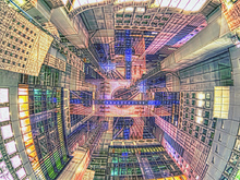 梅田の摩天楼