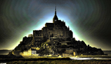 Ghost of the night of Mont-St-Michel
