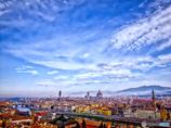 フィレンチェの青き空
