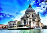ベネチア 水彩景色