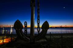 浜の夜明け2