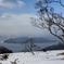 藻琴峠の屈斜路湖