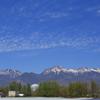 八ヶ岳と電波望遠鏡