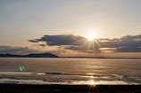 サロマ湖の夕陽 Ⅰ