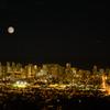 タンタラスから眺める月