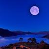 月光と竹田城