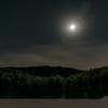 月夜の御射鹿池