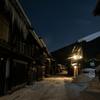 冬の奈良井宿<未明>
