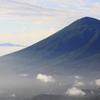 岩手山と早池峰