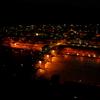 真夜中のネッカー川@ヒルシュホルン