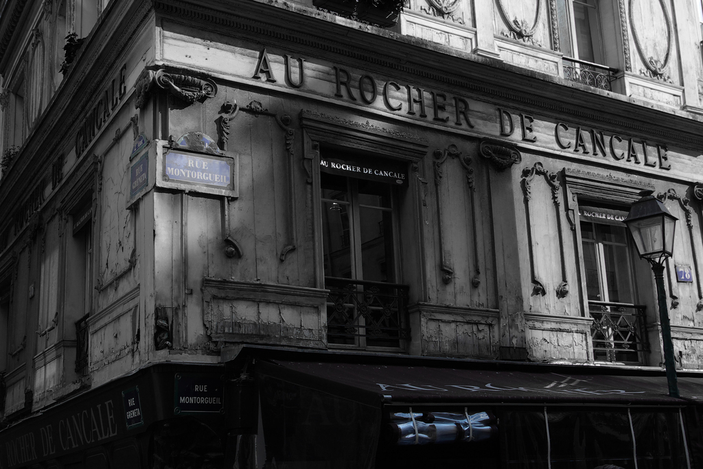 パリ・モントルグイユ通り