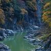 初冬の天竜峡