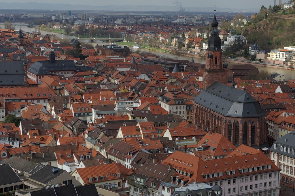 ハイデルベルク旧市街遠景