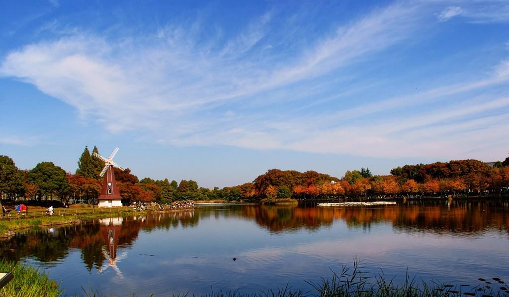浮間公園の青空