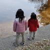 池を眺める・・・