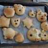 いろいろな形のパンが出来ました