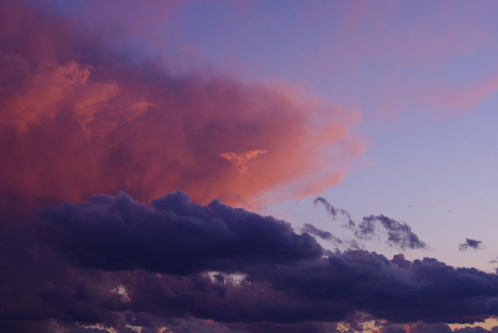 蝶々雲?!