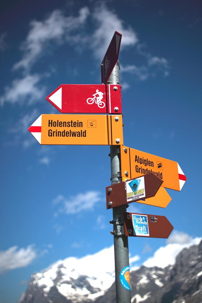 スイス ハイキング