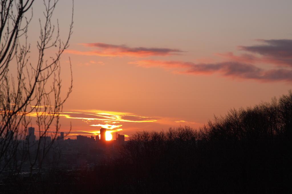 日の出 丘から