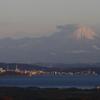 宍道湖→大山の眺め