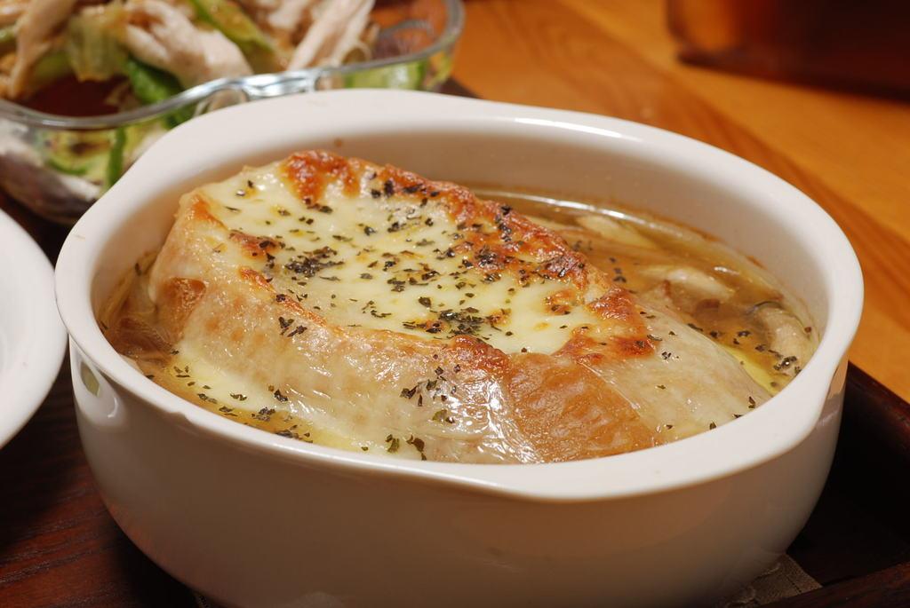 オニオングラタンスープ~!!