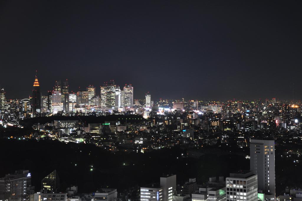新宿方面(夜景)