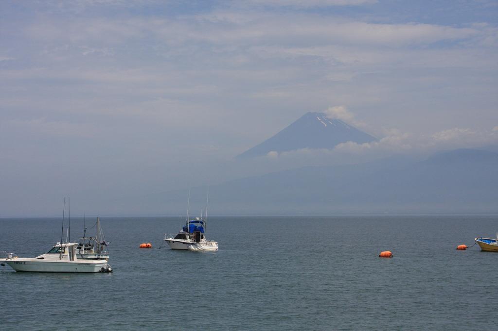 西伊豆より富士山